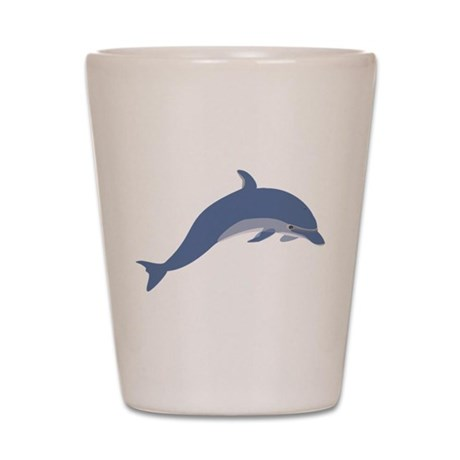 Bottlenose Dolphin Symbol Shot Glass