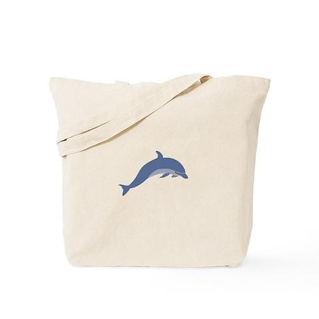Bottlenose Dolphin Symbol Tote Bag