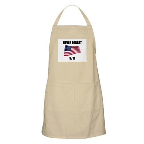 Never Forget 9/11 BBQ Apron