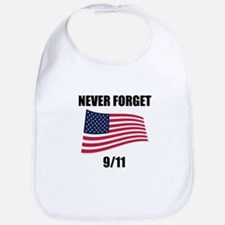Never Forget 9/11 Bib