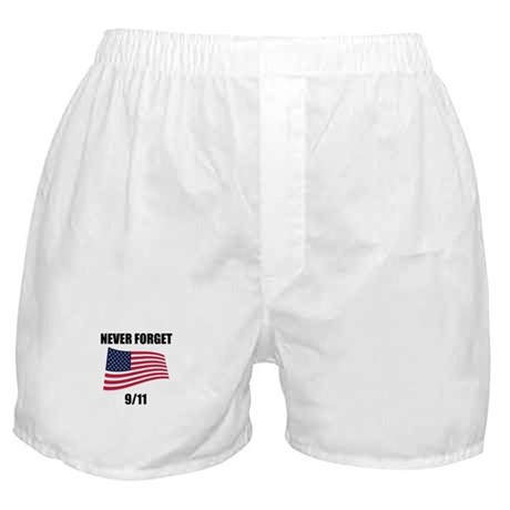 Never Forget 9/11 Boxer Shorts