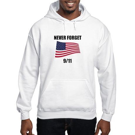 Never Forget 9/11 Hooded Sweatshirt