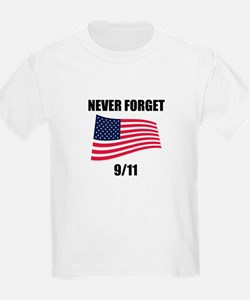Never Forget 9/11 Kids T-Shirt