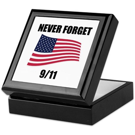 Never Forget 9/11 Keepsake Box