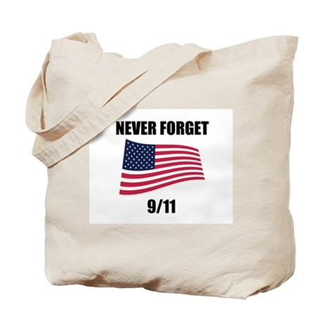 Never Forget 9/11 Tote Bag