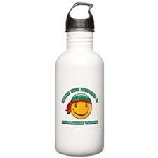 Have you hugged a Bulgarian today? Water Bottle