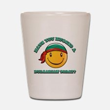 Have you hugged a Bulgarian today? Shot Glass