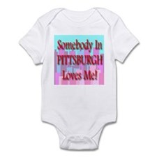 Somebody In Pittsburgh Loves Infant Creeper