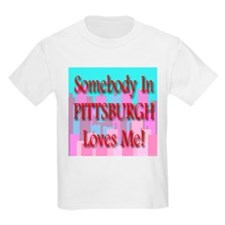 Somebody In Pittsburgh Loves Kids T-Shirt
