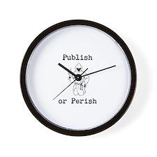 Publish or Perish Wall Clock
