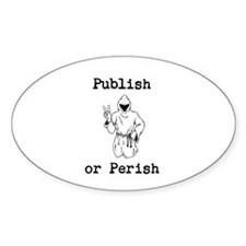 Publish or Perish Decal