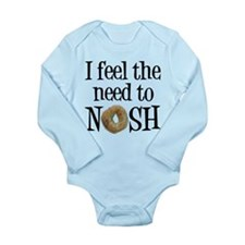 Need to Nosh Long Sleeve Infant Bodysuit