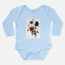 Poppy Art Long Sleeve Infant Bodysuit