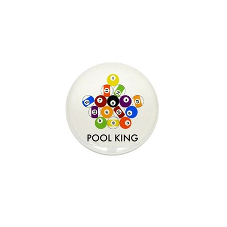 Pool King Mini Button (100 pack)
