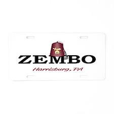 Zembo Shriner License Plate