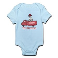 'Lil Fireman Infant Bodysuit