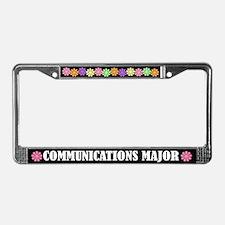 Communications Major License Frame