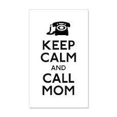Keep Calm and Call Mom Wall Decal