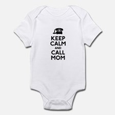 Keep Calm and Call Mom Onesie