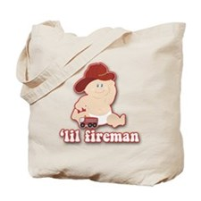 Lil Baby Fire Fighter Tote Bag