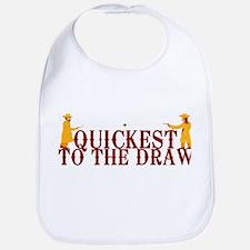 Quickest to the Draw Bib