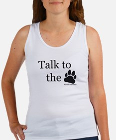 Talk to the Paw Women's Tank Top