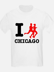 I run chicago T-Shirt
