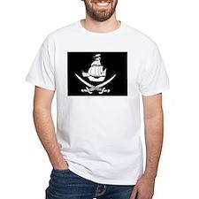 Pirate Flag w Ship And Swords Shirt