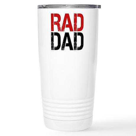 Rad Dad Stainless Steel Travel Mug