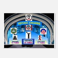 VOTE EARLY AND OFTEN Postcards (Package of 8)