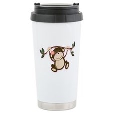 Monkey Play Stainless Steel Travel Mug