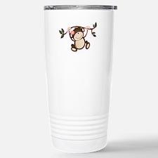 Monkey Play Stainless Steel Travel Mug