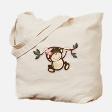 Monkey Play Tote Bag