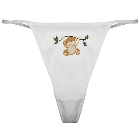 Monkey Play Classic Thong