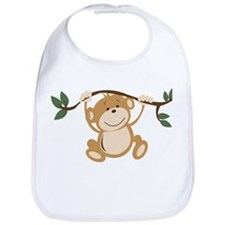 Monkey Play Bib