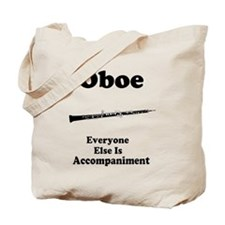 Oboe Music Joke Tote Bag