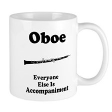 Oboe Music Joke Mug