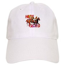 Horse Racing Baseball Cap