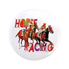 """Horse Racing 3.5"""" Button"""