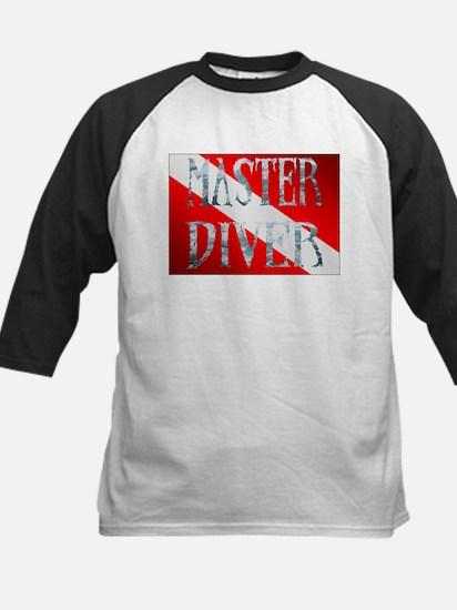 Master Diver Kids Baseball Jersey