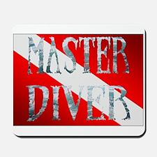 Master Diver Mousepad
