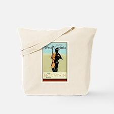 Travel West Virginia Tote Bag