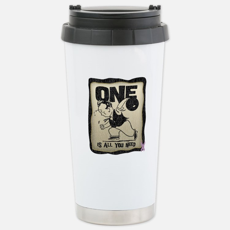 All You Need (Bowling) Stainless Steel Travel Mug