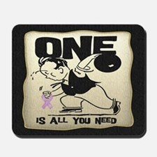 All You Need (Bowling) Mousepad