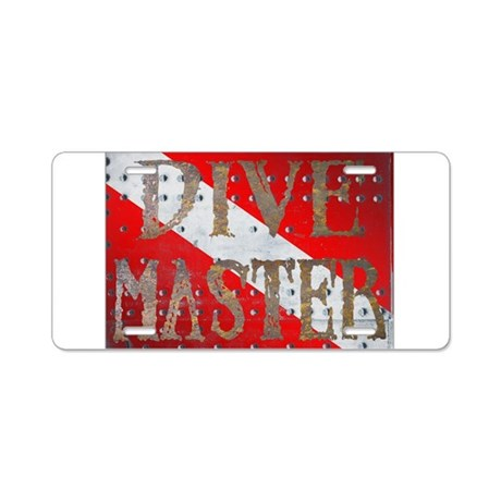 Iron Dive Master Aluminum License Plate
