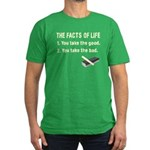 The Facts of Life Men's Fitted T-Shirt (dark)