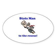Stats Man Decal