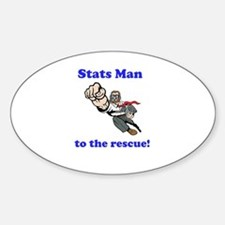 Stats Man Decal