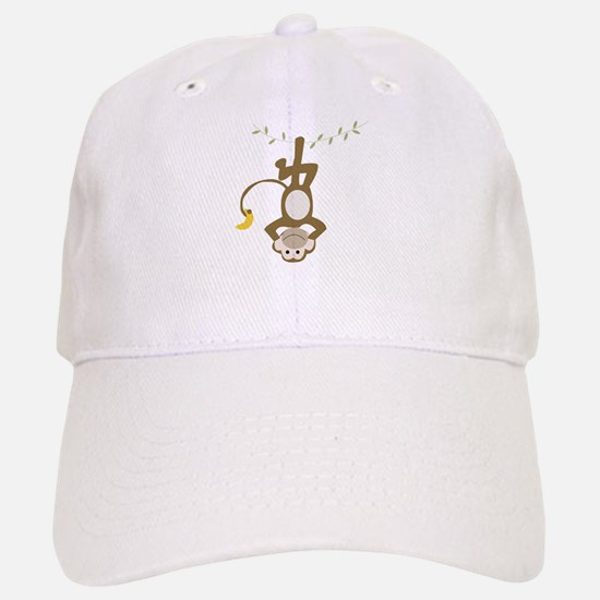 Monkey Around Baseball Baseball Cap
