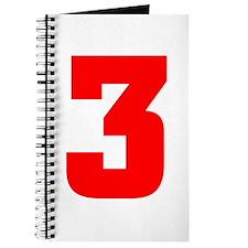 NUMBER 3: WE'VE GOT YOUR NUMB Journal